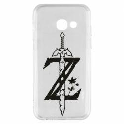 Чохол для Samsung A3 2017 The Legend of Zelda Logo