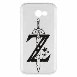 Чехол для Samsung A7 2017 The Legend of Zelda Logo