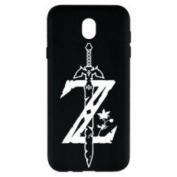 Чехол для Samsung J7 2017 The Legend of Zelda Logo