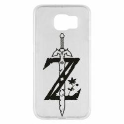 Чехол для Samsung S6 The Legend of Zelda Logo