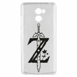Чехол для Xiaomi Redmi 4 The Legend of Zelda Logo