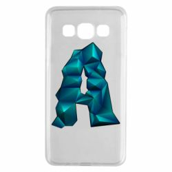Чехол для Samsung A3 2015 The letter a is cubic