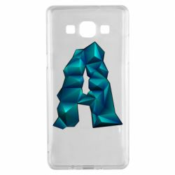 Чехол для Samsung A5 2015 The letter a is cubic