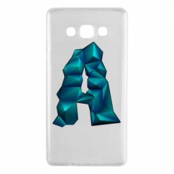 Чехол для Samsung A7 2015 The letter a is cubic