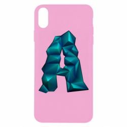 Чехол для iPhone Xs Max The letter a is cubic