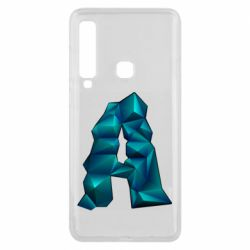 Чехол для Samsung A9 2018 The letter a is cubic