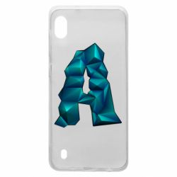 Чехол для Samsung A10 The letter a is cubic
