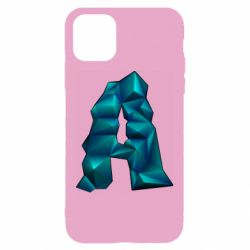 Чехол для iPhone 11 The letter a is cubic