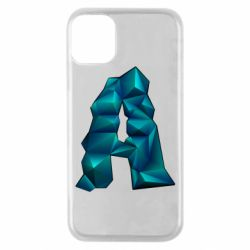 Чехол для iPhone 11 Pro The letter a is cubic