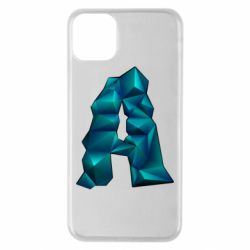 Чехол для iPhone 11 Pro Max The letter a is cubic