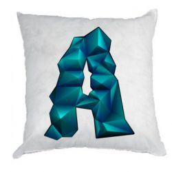 Подушка The letter a is cubic