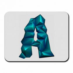 Коврик для мыши The letter a is cubic