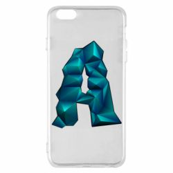 Чехол для iPhone 6 Plus/6S Plus The letter a is cubic