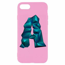 Чехол для iPhone 7 The letter a is cubic