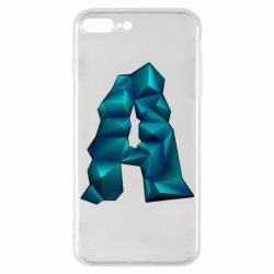 Чехол для iPhone 7 Plus The letter a is cubic