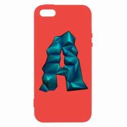 Чехол для iPhone5/5S/SE The letter a is cubic