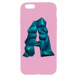 Чехол для iPhone 6/6S The letter a is cubic