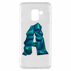 Чехол для Samsung A8 2018 The letter a is cubic