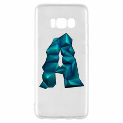 Чехол для Samsung S8 The letter a is cubic