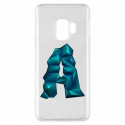 Чехол для Samsung S9 The letter a is cubic