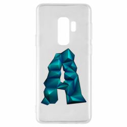 Чехол для Samsung S9+ The letter a is cubic