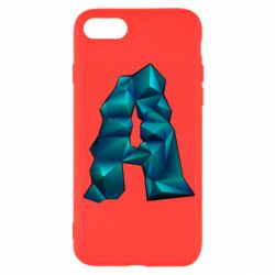 Чехол для iPhone 8 The letter a is cubic
