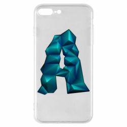 Чехол для iPhone 8 Plus The letter a is cubic