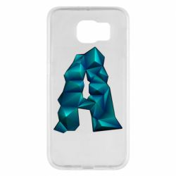 Чехол для Samsung S6 The letter a is cubic