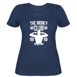 Жіноча футболка The money club