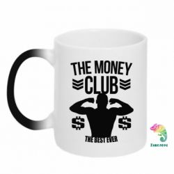 Кружка-хамелеон The money club