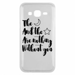 Чохол для Samsung J5 2015 The moon and the stars are nothing without you