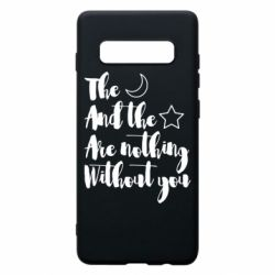 Чохол для Samsung S10+ The moon and the stars are nothing without you