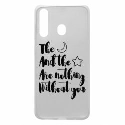 Чохол для Samsung A60 The moon and the stars are nothing without you