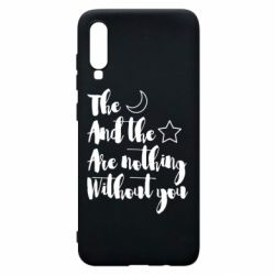 Чохол для Samsung A70 The moon and the stars are nothing without you