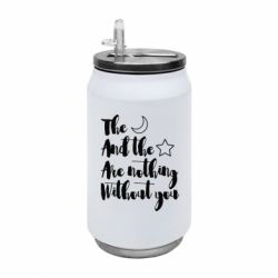 Термобанка 350ml The moon and the stars are nothing without you
