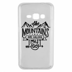 Чохол для Samsung J1 2016 The mountains are calling must go