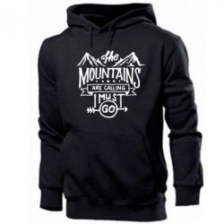 Чоловіча толстовка The mountains are calling must go
