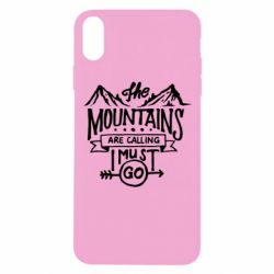 Чохол для iPhone Xs Max The mountains are calling must go