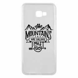 Чохол для Samsung J4 Plus 2018 The mountains are calling must go