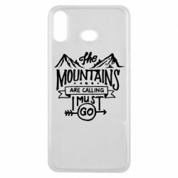 Чохол для Samsung A6s The mountains are calling must go