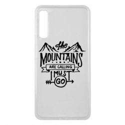 Чохол для Samsung A7 2018 The mountains are calling must go