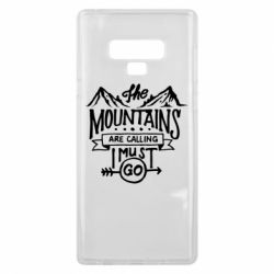 Чохол для Samsung Note 9 The mountains are calling must go