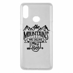 Чохол для Samsung A10s The mountains are calling must go