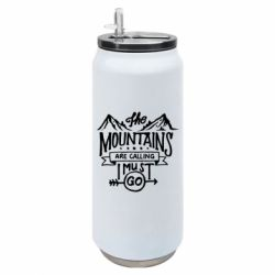 Термобанка 500ml The mountains are calling must go