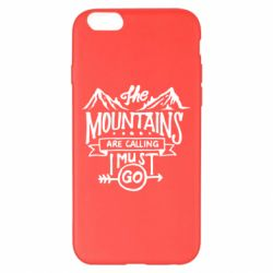 Чохол для iPhone 6 Plus/6S Plus The mountains are calling must go