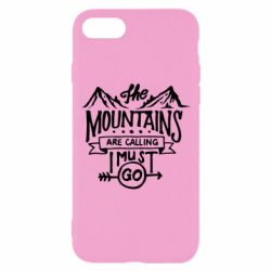 Чохол для iPhone 7 The mountains are calling must go