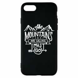 Чохол для iPhone 8 The mountains are calling must go