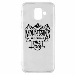 Чохол для Samsung A6 2018 The mountains are calling must go
