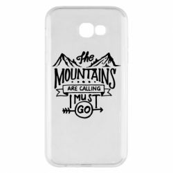 Чохол для Samsung A7 2017 The mountains are calling must go