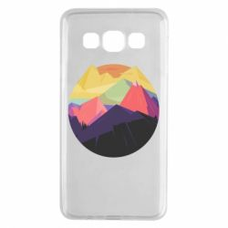 Чехол для Samsung A3 2015 The mountains Art